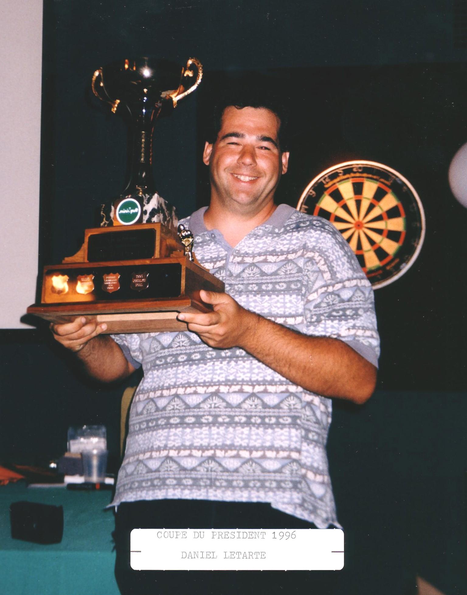 Letarte Daniel Presiden 1996