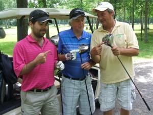 carl et Labrie et Legault golf 2013