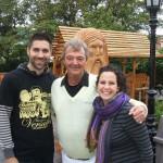carl et jonathan et mireille cascades golf 2013